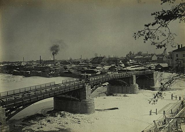 Bridge to Zverinas 1905