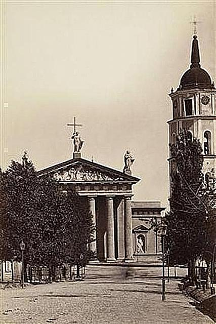Cathedral and Bell Tower 1880