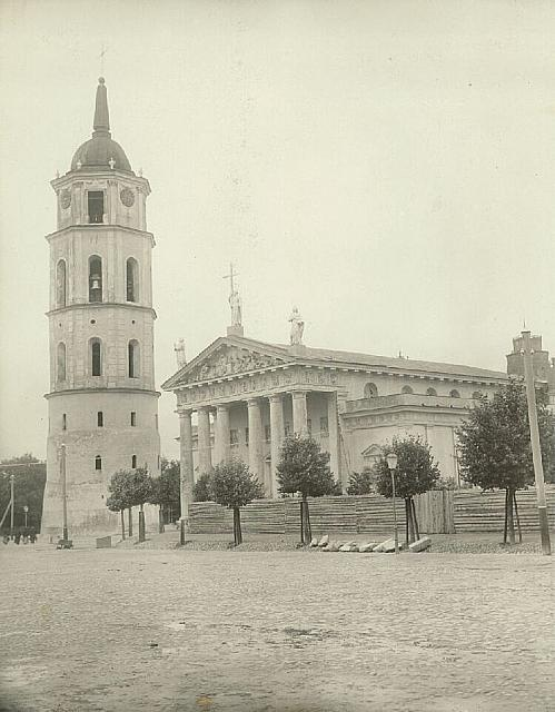 Cathedral and Bell Tower 1904