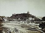 Castle view from Rybaki suburb 1866